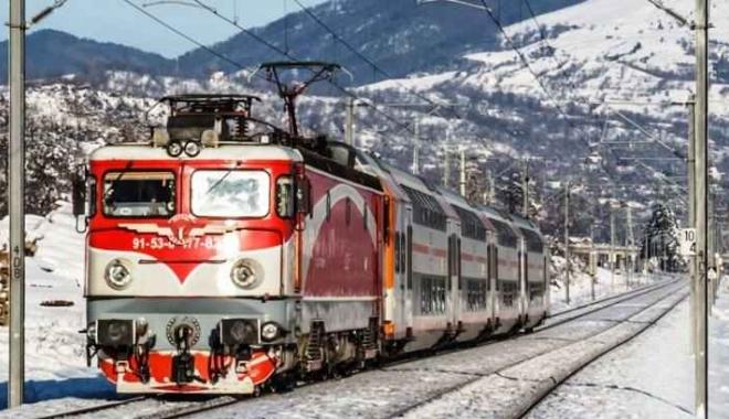 """Foto: Anunţ CFR Călători! Reduceri de până la 56% la călătoriile cu """"Trenurile Zăpezii"""", în ianuarie şi februarie"""