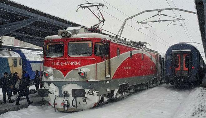 Foto: CFR: Trenurile circulă pe toate magistralele