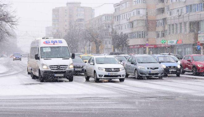 Foto: O nouă atenţionare de la meteorologi! Lapoviţă, ninsoare şi polei, mâine şi poimâine la Constanţa