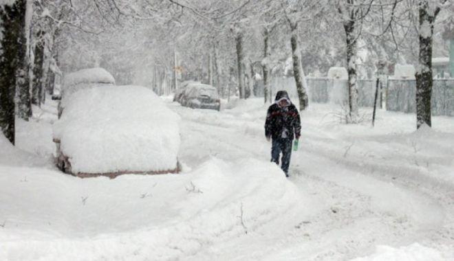 Foto: Prognoza iarna 2018. Se anunţă viscol şi ger năprasnic!<br>