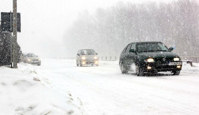 COD PORTOCALIU. Încă un drum naţional, închis, la Constanţa. Circulație oprită pe DN38, între Agigea și Negru Vodă, județul Constanța - iarna-1611747867.jpg