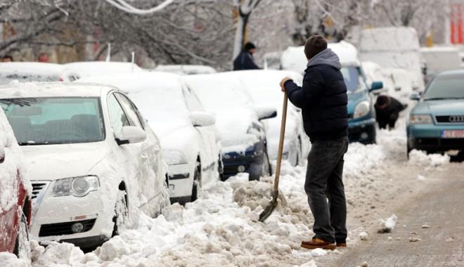 Foto: VINE IARNA LA CONSTANŢA / Temperaturi cu minus, lapoviţă şi ninsoare