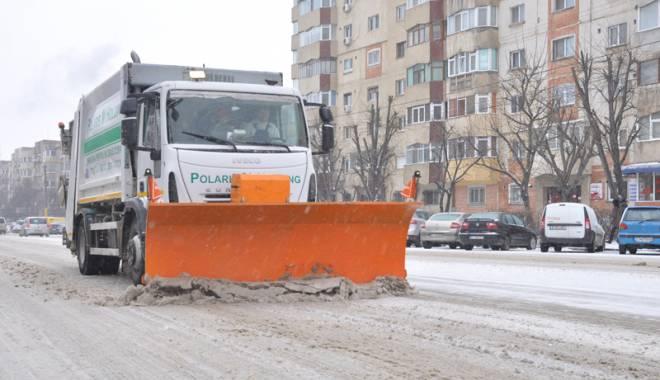 Foto: Autoritățile din Constanța, amendate pentru că  nu au deszăpezit străzile