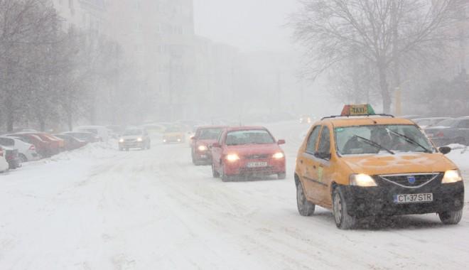 Foto: Informare meteo/ Lapoviţă şi ninsoare, mâine noapte, la Constanţa