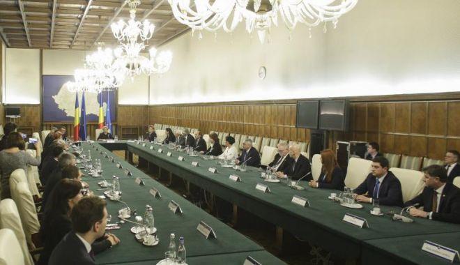 Foto: Iată ce acte normative discută, astăzi, Guvernul României
