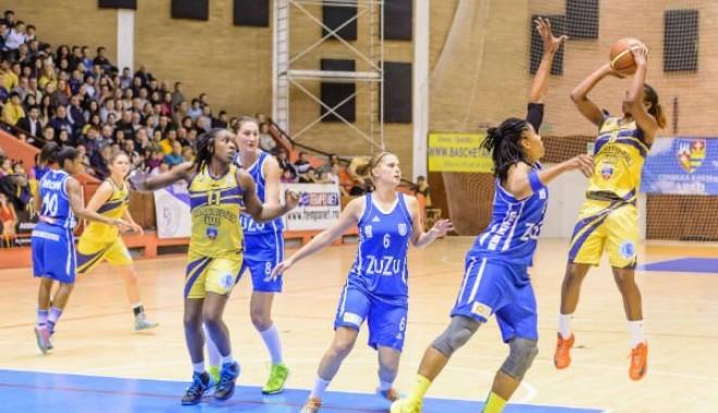 Foto: ICIM Arad, câştigătoarea sezonului regulat la baschet feminin