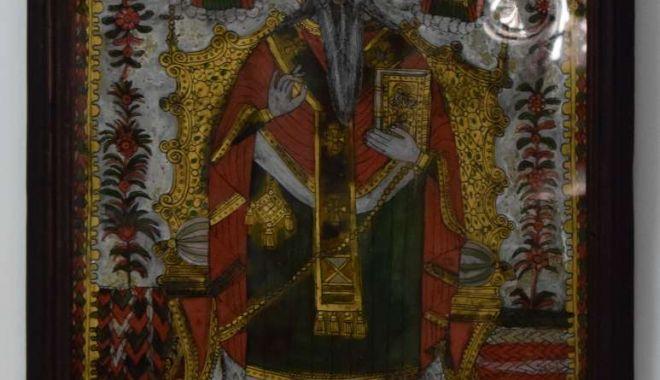 Foto: Sfântul Haralambie, reprezentat pe icoane din secolul al XIX-lea