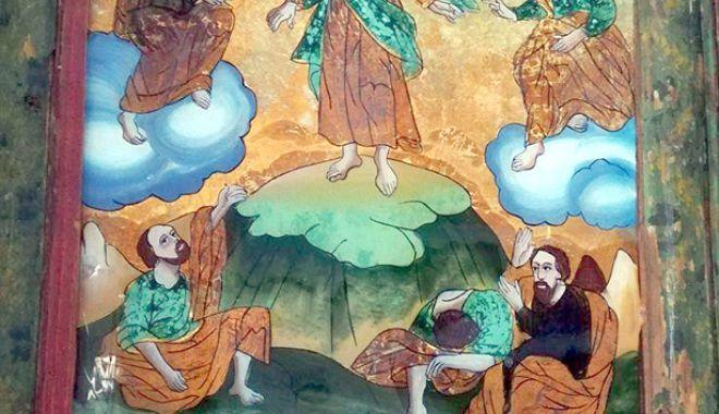 Icoană veche pe sticlă la Muzeul de Artă Populară Constanţa - icoanamuzeu-1533470723.jpg