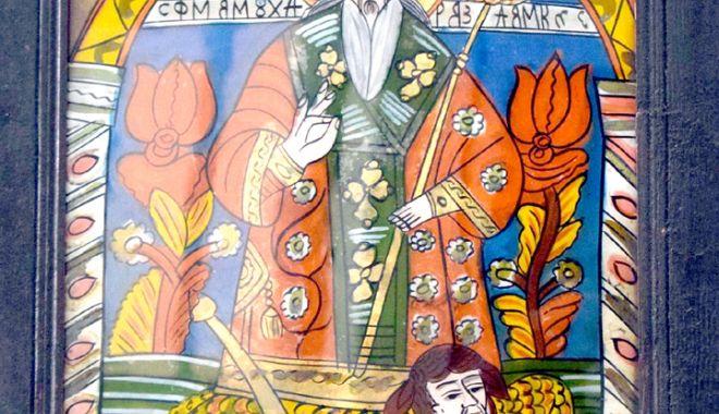 Foto: Icoanele Sfântului Haralambie, la Muzeul de Artă Populară Constanţa