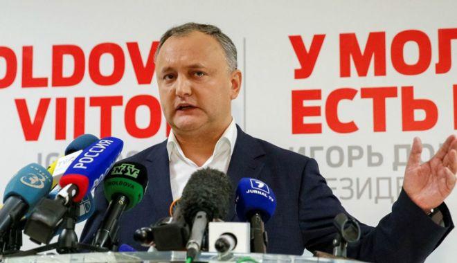 Foto: Igor Dodon, pe listele socialiştilor, la alegerile parlamentare