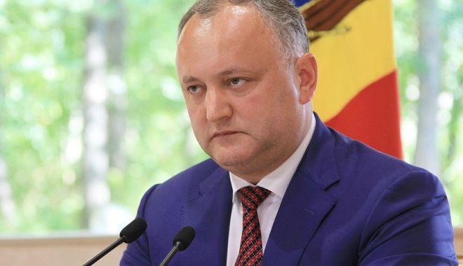Foto: Igor Dodon şi-a făcut public noul concept despre viitorul Republicii Moldova