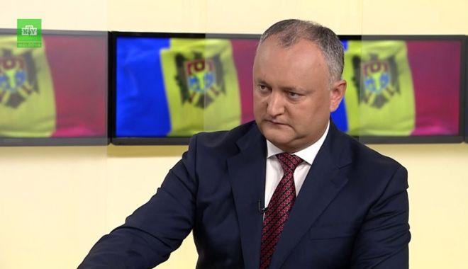 Foto: Igor Dodon, suspendat, din nou,  din funcţie