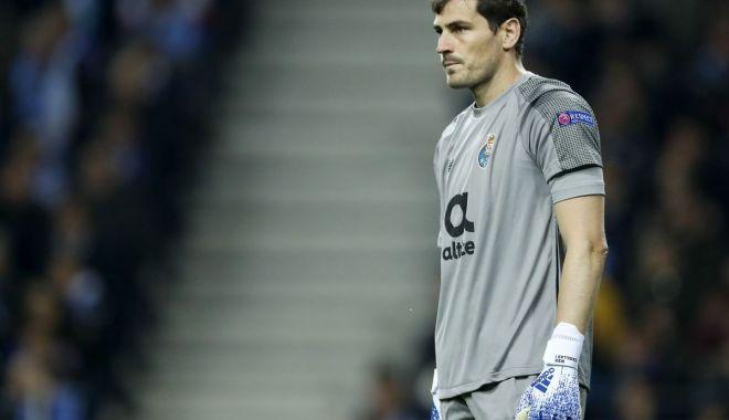 Foto: Iker Casillas a suferit un infarct la antrenamentul lui FC Porto. Starea sa este stabilă