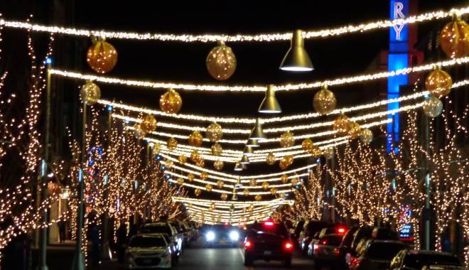 Foto: CUM VA ARĂTA CONSTANŢA DE SĂRBĂTORI. Primăria promite un spectacol de lumini. Orăşelul Copiilor, într-o nouă locaţie