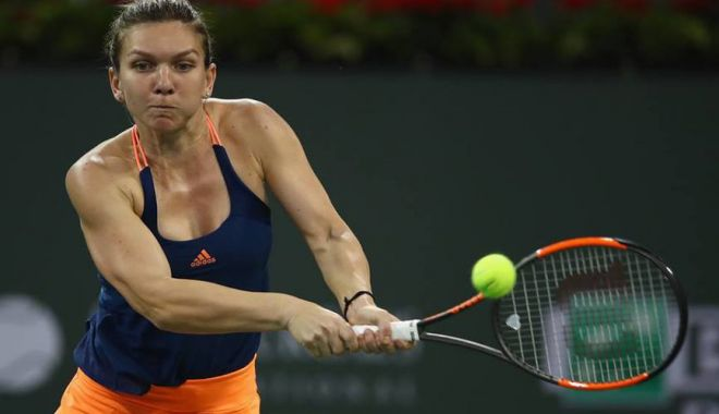 Foto: Simona Halep și-a aflat prima adversară la Indian Wells!