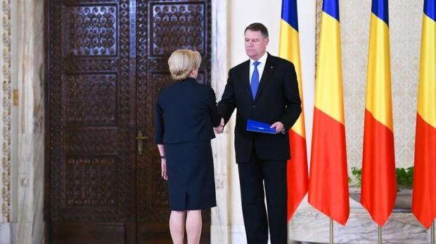 Foto: Ședință solemnă în Parlament. Iohannis și Dăncilă participă la eveniment