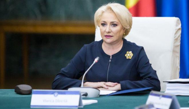 Foto: Viorica Dăncilă anunţă astăzi cine sunt miniştrii interimari la Dezvoltare şi Transporturi
