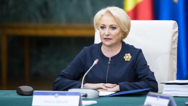 """Foto: Viorica Dăncilă, la bilanţul preşedinţiei române a Consiliului UE: """"S-a dovedit că atacurile au fost nefondate"""""""