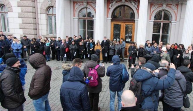 Foto: Magistraţii reiau protestele faţă de modificarea codurilor penale