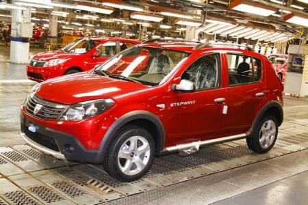 Foto: Renault pregătește o versiune sportivă a modelului Dacia Sandero
