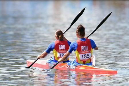 Foto: Kaiac-canoe: România a cucerit trei medalii de argint la Mondialele de juniori și tineret din Portugalia