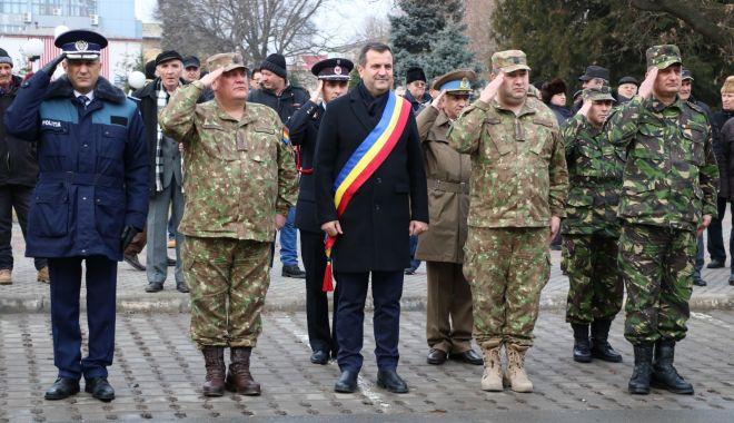 Foto: Unirea Principatelor Române, sărbătorită în municipiul Medgidia