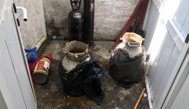 Foto: Galerie foto-video / Imagini de groază din bucătăria unei terase din Eforie Sud! OPC este în control