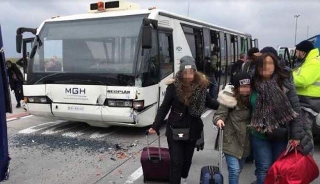 Foto: Opt români răniţi în accidentul de pe aeroportul din Budapesta. Anunţ făcut de MAE în urmă cu puţin timp