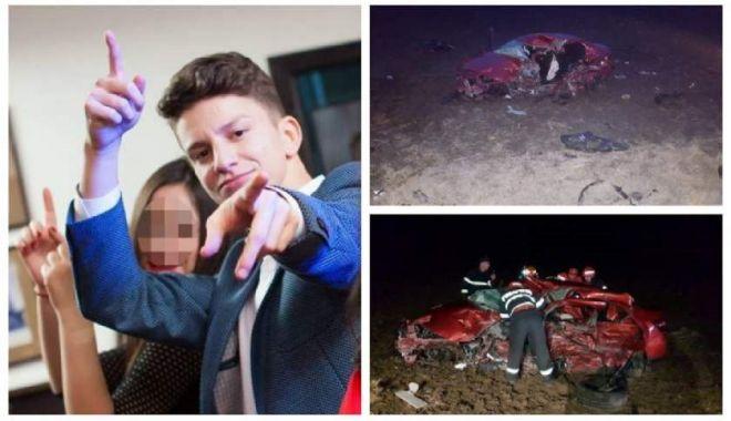 Foto: Mărturia adolescentului care a scăpat ca prin minune din accidentul mortal de la Constanţa