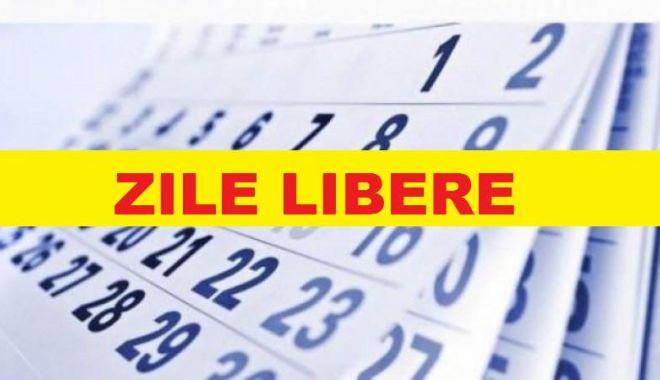 Zile libere 2018: Salariații vor avea trei zile nelucrătoare în luna mai