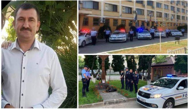 Foto: Avocatul Poporului solicită lămuriri IGPR în cazul poliţistului împuşcat mortal