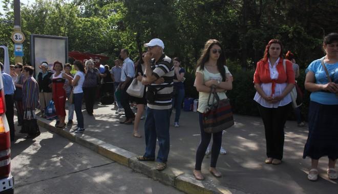 """Foto: SCANDAL LA RATC/ Ovidiu Tănase: """"Greva e ILEGALĂ, SALARIUL greviştilor pentru ziua de azi VA FI TĂIAT!"""""""
