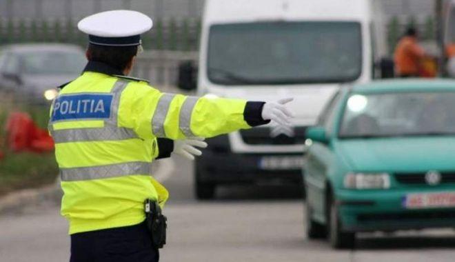 Foto: Trafic blocat la Constanţa, din cauze unei avarii RAJA