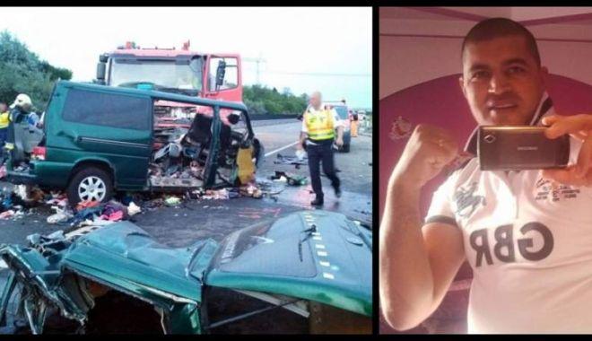 Foto: Detalii şocante despre şoferul microbuzului în care au murit 9 români! Anul trecut, a băgat în comă o fată de 21 de ani