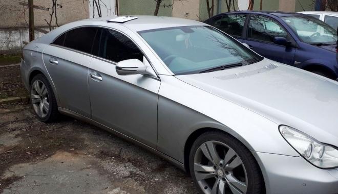 Foto: Lăsat fără maşina de lux, după ce poliţiştii din Constanţa au descoperit o infracţiune