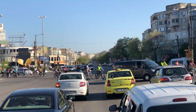 Foto: Galerie foto / Protest al bicicliştilor din Constanţa!