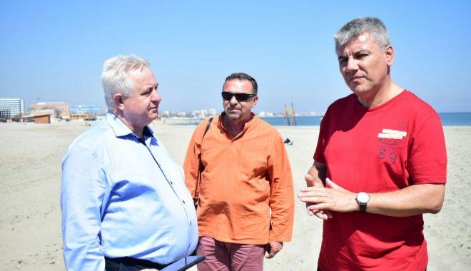 Foto: MINISTRUL APELOR ŞI PĂDURILOR, CONTROL PE PLAJELE de pe litoral: CONCLUZIA: ULTIMATUM PENTRU OPERATORI!