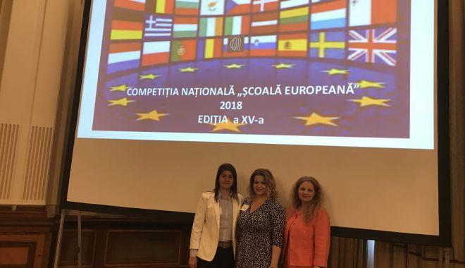 Foto: Colegiul Național Pedagogic ,,Constantin Brătescu'' – Școală Europeană pentru a cincea oară