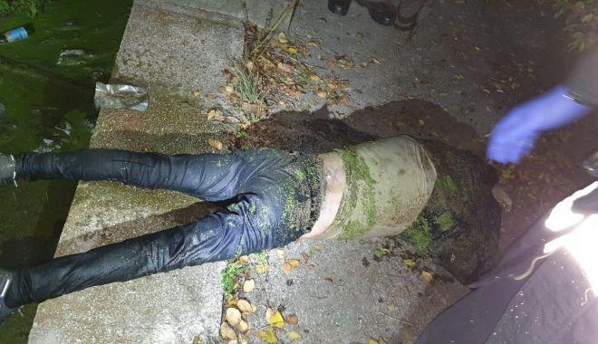 CRIMĂ LA CONSTANȚA? Bărbat găsit plin de sânge în bazinul abandonat de la Badea Cârțan