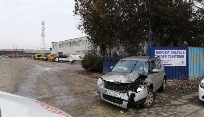 Foto: Accident rutier la Constanța!