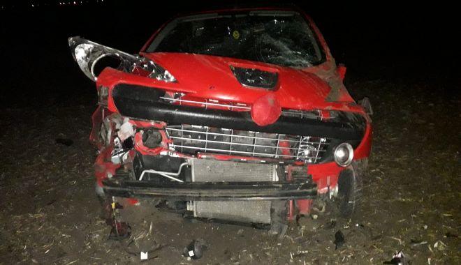 Foto: Accident rutier la Mihail kogălniceanu! O victimă