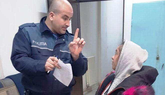 Foto: ACȚIUNE A POLIȚIȘTILOR CONSTĂNȚENI