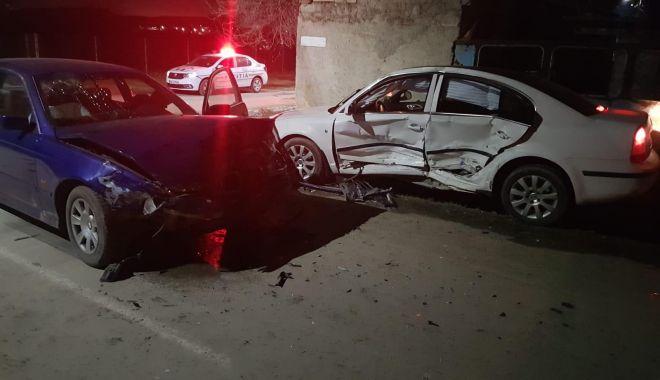 Foto: Neacordarea de prioritate face victime! Accident în județul Constanța