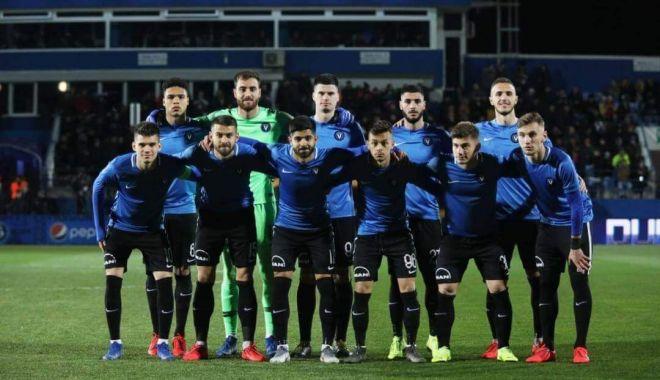 Foto: CFR Cluj a învins echipa FC Viitorul