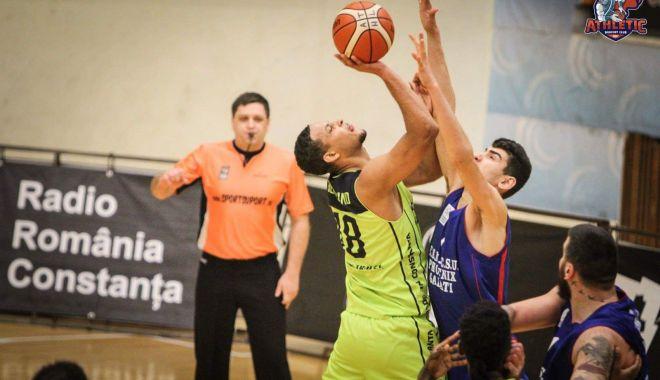 Foto: Înfrângere pentru echipa masculină de baschet BC Athletic Constanţa