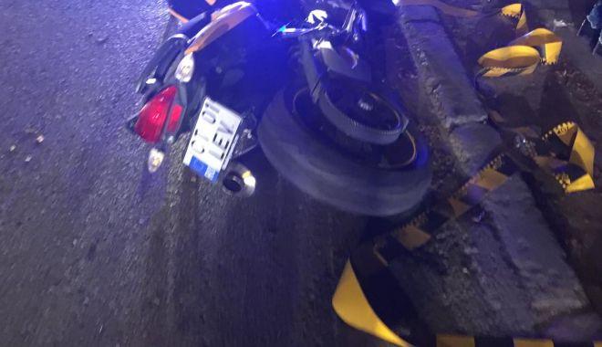 Foto: TRAGEDIE LA CONSTANȚA! Femeie ucisă de o motocicletă, chiar din vina ei