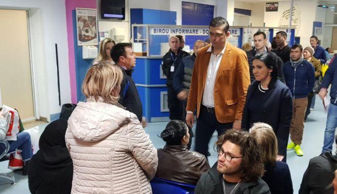 Foto: Spitalul Judeţean Constanţa, reacţie oficială după vizita fulger a ministrului Sănătăţii