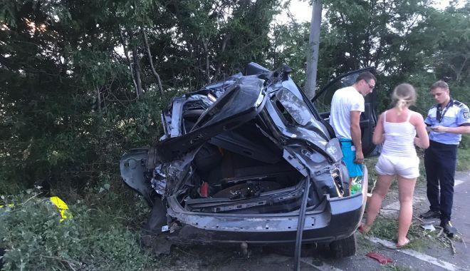 Foto: Galerie foto. Accident rutier la Constanța!