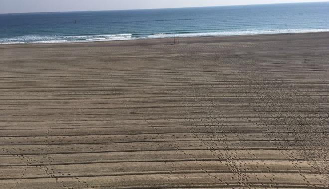 Foto: GALERIE FOTO. A început pregătirea plajelor pentru sezonul estival. Să vină turiştii!