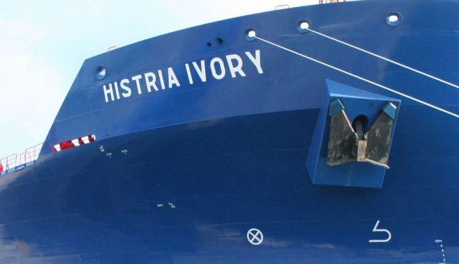Foto: Incident la bordul navei Histria Ivory